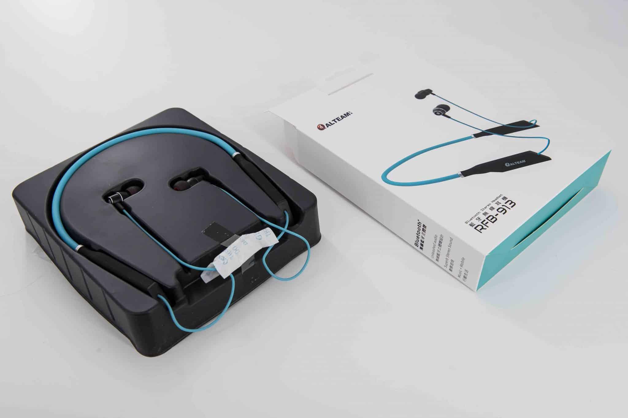 Alteam RFB-913 頸掛式藍牙耳機開箱評測-TechTeller (科技說)