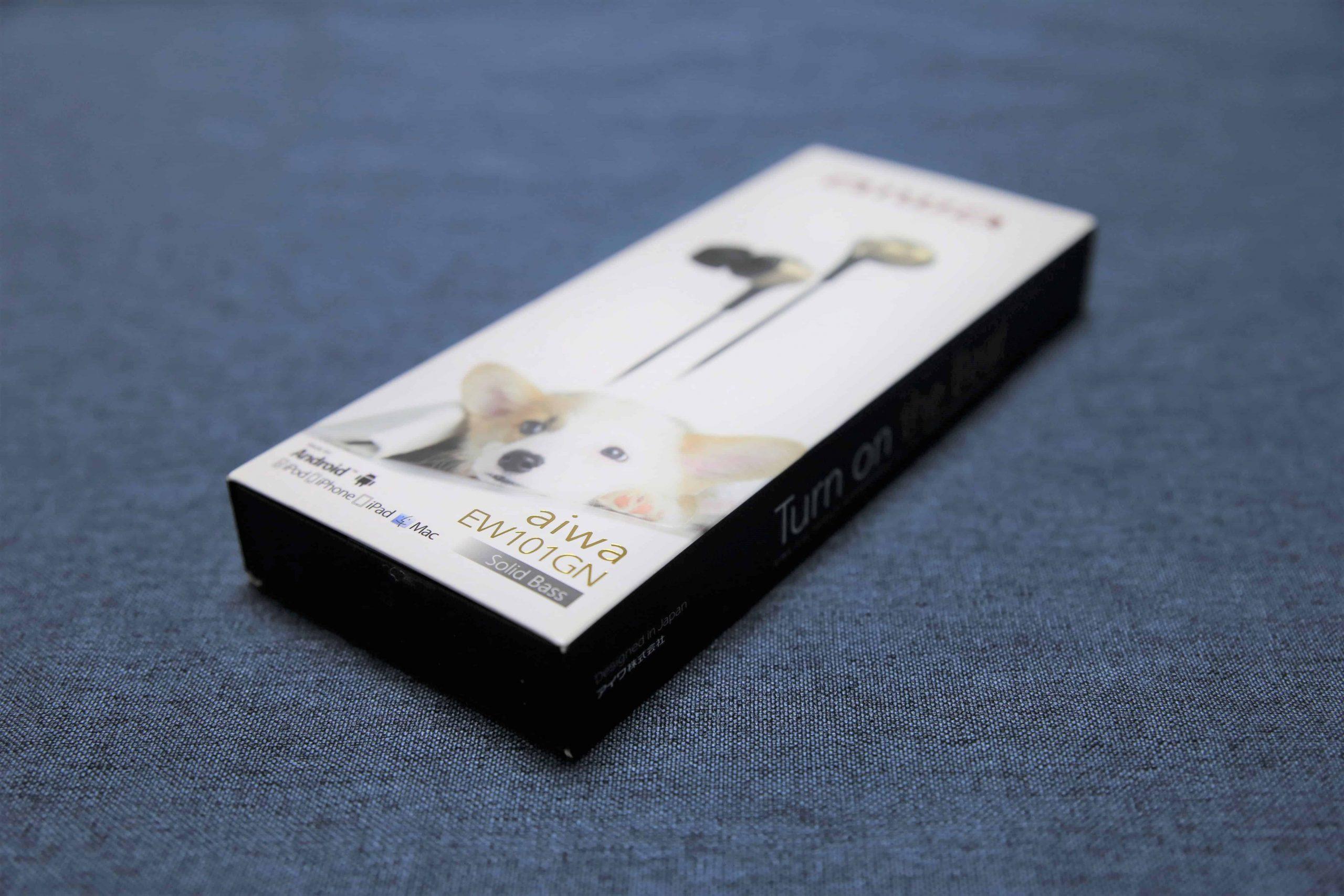 AIWA愛華最新千元內高CP值有線入耳式耳機 - AIWA EW101GN-TechTeller (科技說)