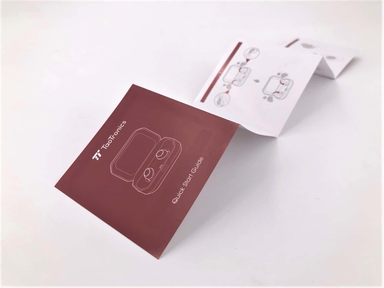 TaoTronicss TT-BH052真無線藍芽耳機推薦-CP值最高真無線藍牙耳機-快速指南