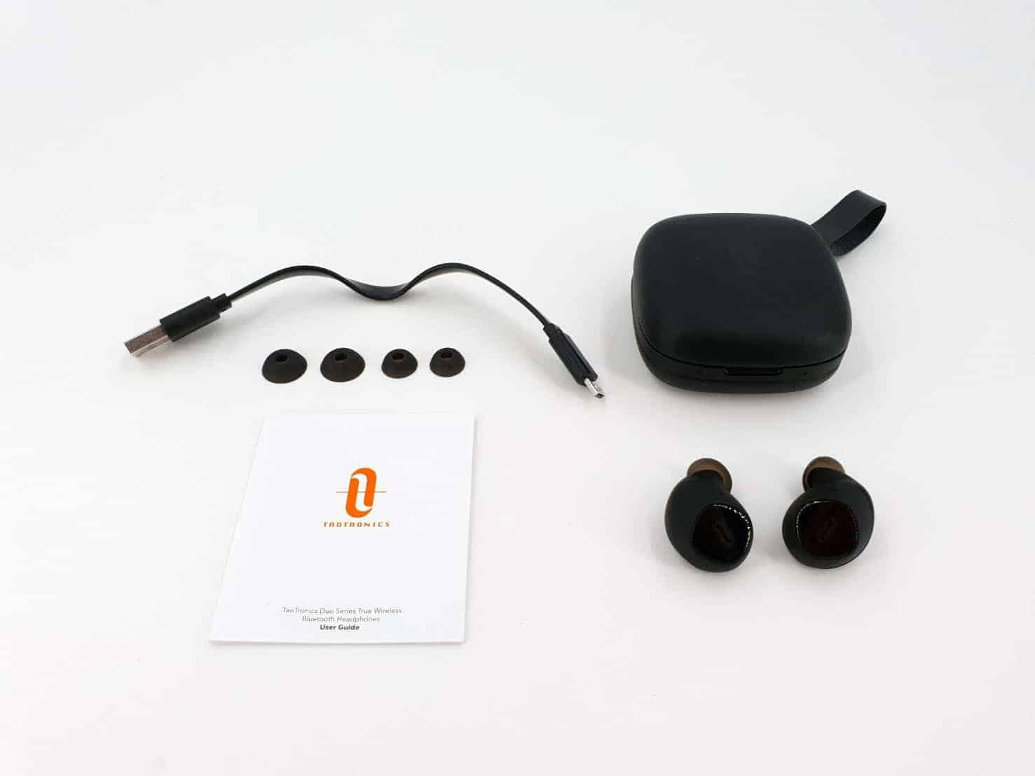 TaoTroncis Duo Free平價真無線耳機推薦 內容物