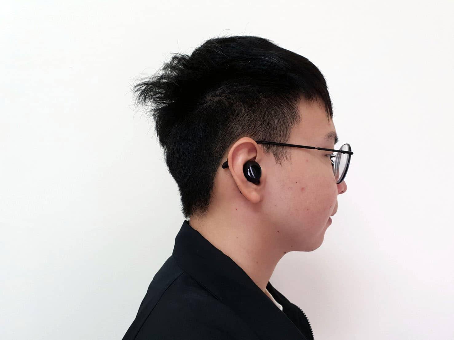 TaoTroncis Duo Free平價真無線耳機推薦 配戴