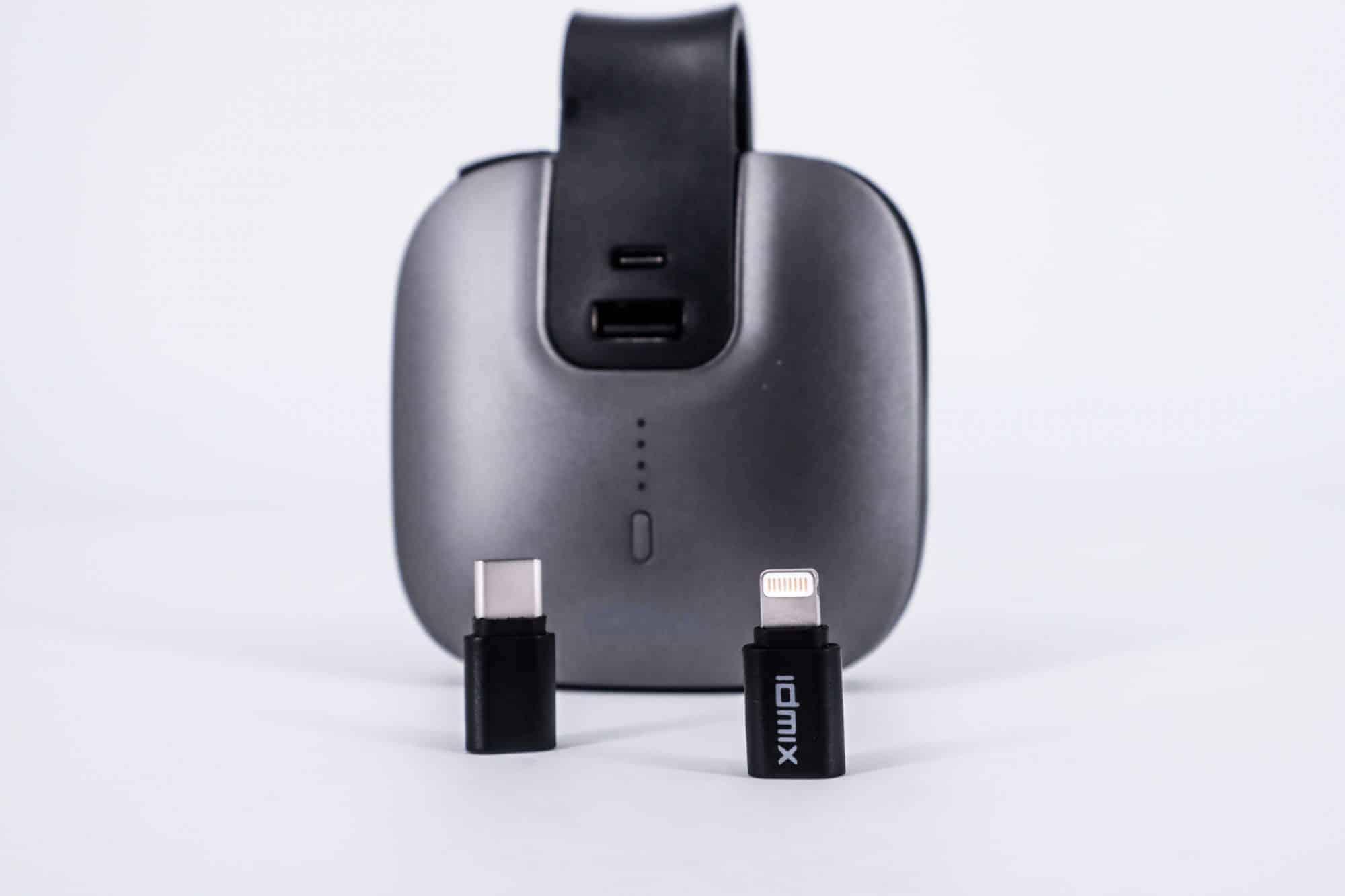 行動電源自帶充電線?MR CHARGER 5000(CH03)行動電源推薦|TechTeller