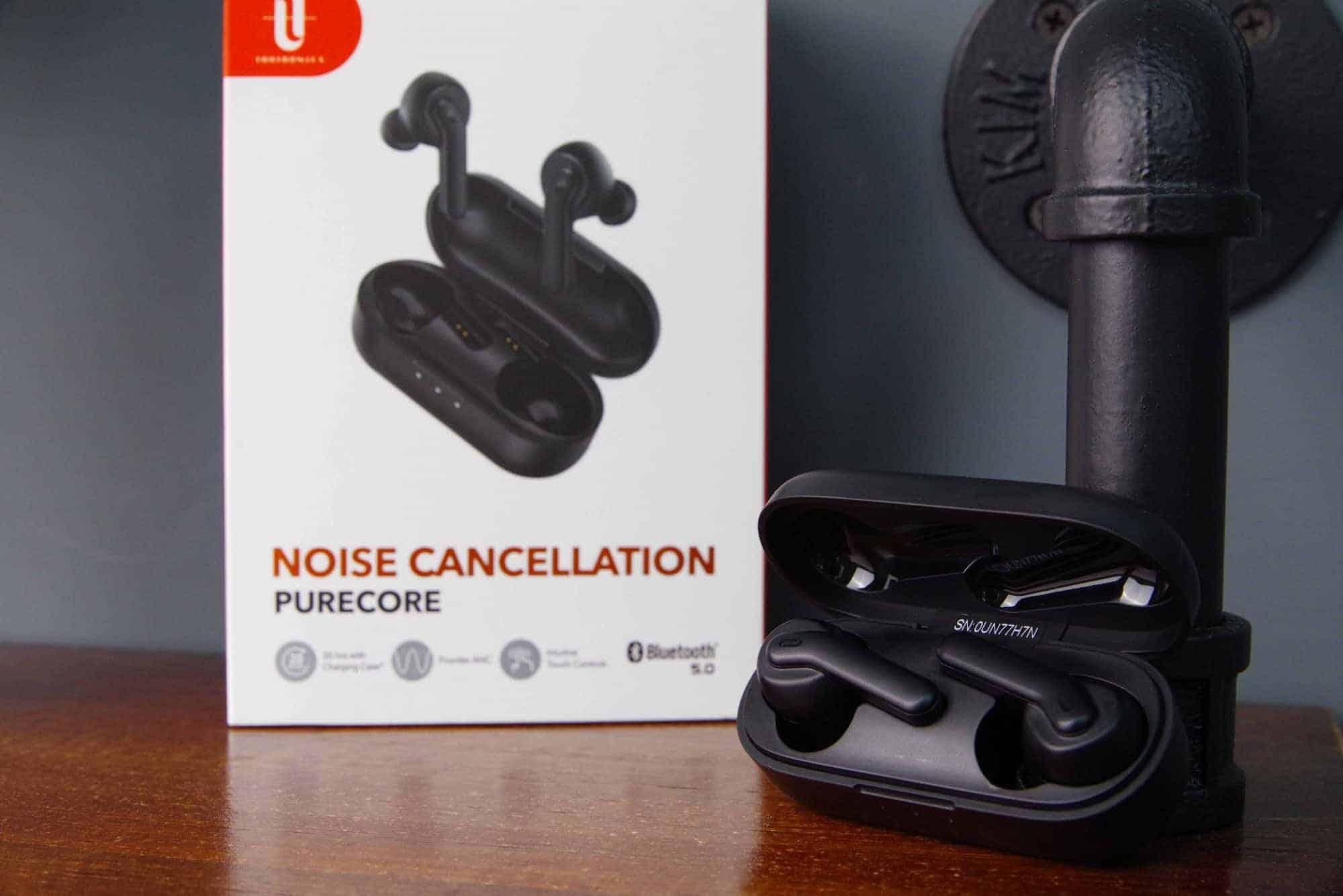 極簡IEM監聽耳機設計!TaoTronics Purecore ANC降噪真無線藍牙耳機