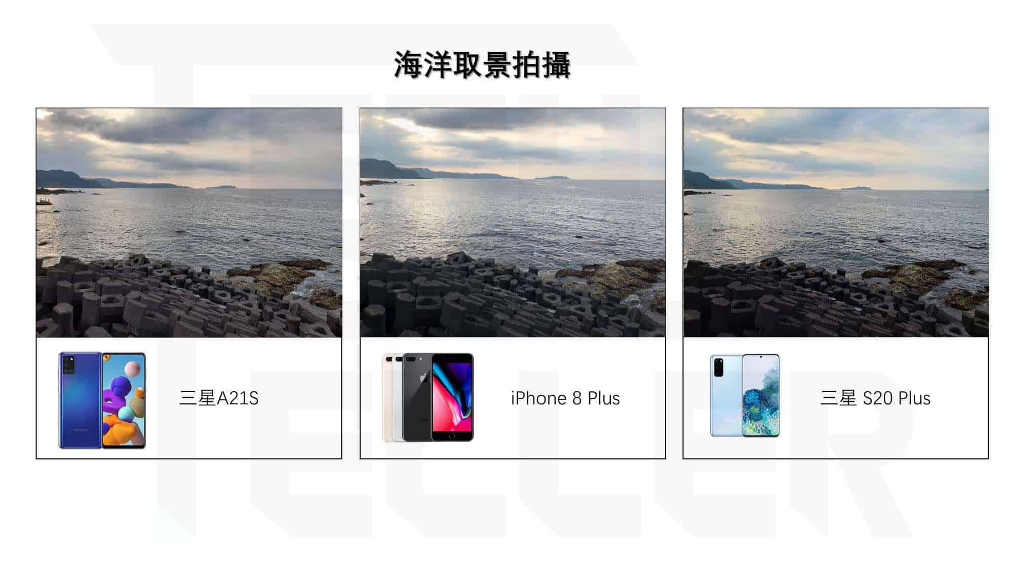 Samsung Galaxy A21S-拍照實測1-海洋取景拍攝